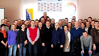 Mid-Season Referee Clinic in Bosnia and Herzegovina -  18 February 2012